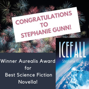 Icefall by Stephanie Gunn Wins Aurealis Award!
